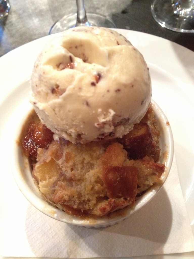 soft pretzel bread pudding