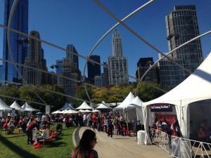 Chicago Gourmet Millenium Park