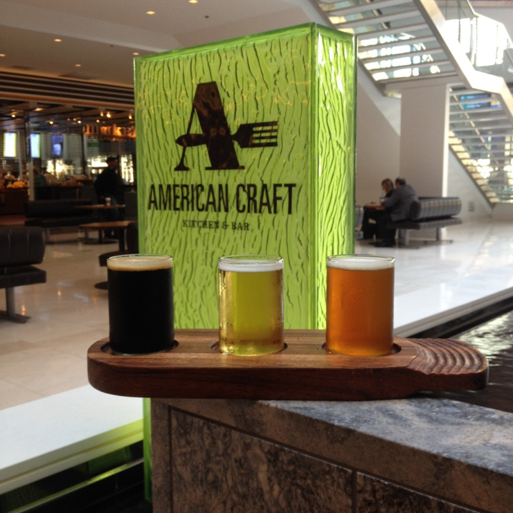 American Craft Beer Flight