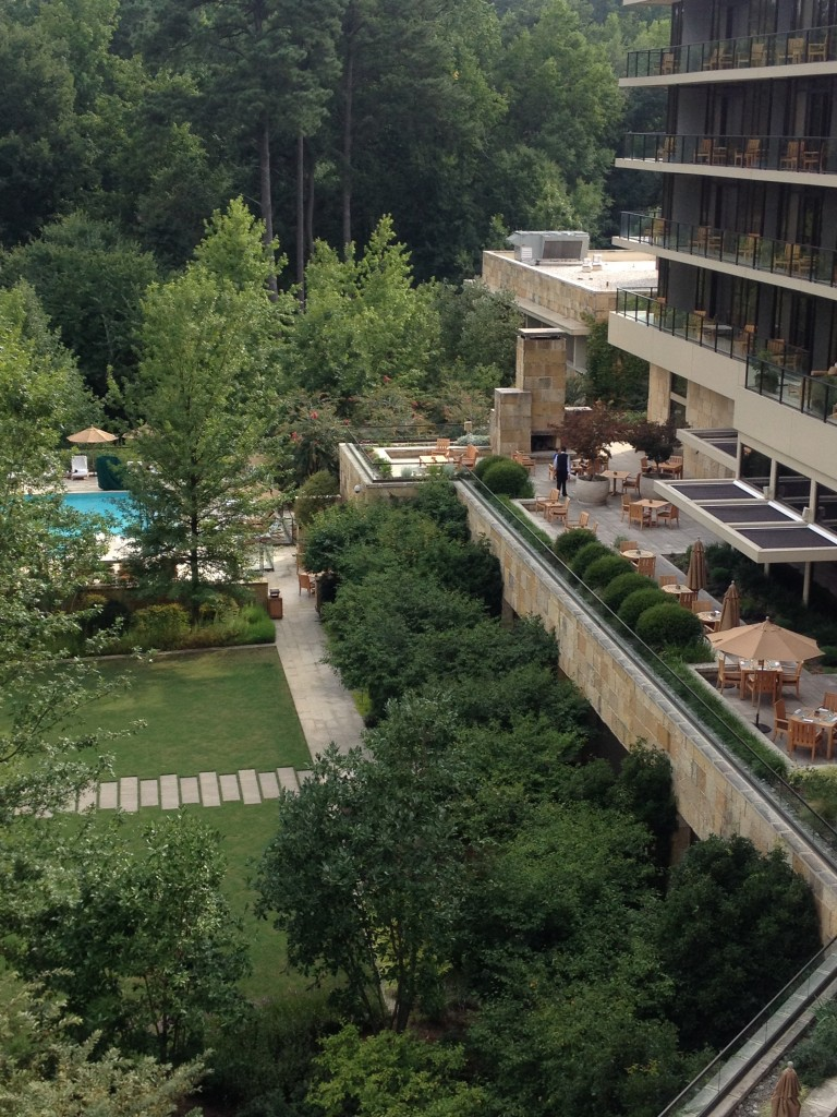 View of grounds of The Umstead Hotel and Spa Photo Credit: Chris J Hamilton