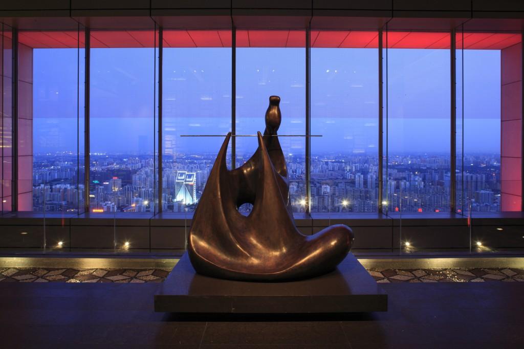 Lobby Photo courtesy of the Park Hyatt Beijing